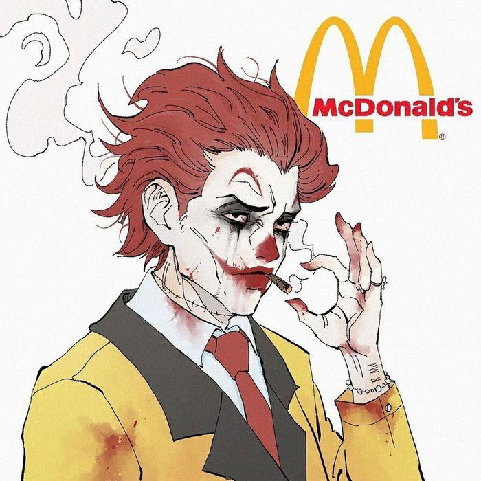 Если бы рекламные персонажи фастфуда были суперзлодеями Макдоналдс, KFC, Бургер Кинг, Фастфуд, Суперзлодеи, Арт, Длиннопост