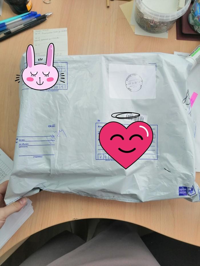 Обмен подарками - Цвет настроения-......ОРАНЖЕВЫЙ Обмен подарками, Посылка пришла, Длиннопост