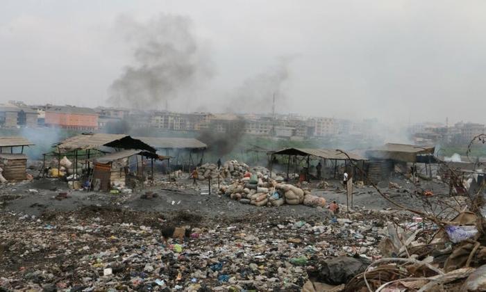 Как жить в городе с самым грязным воздухом в мире? Нигерия, Экология, Экологическая катастрофа, Мусор, Длиннопост