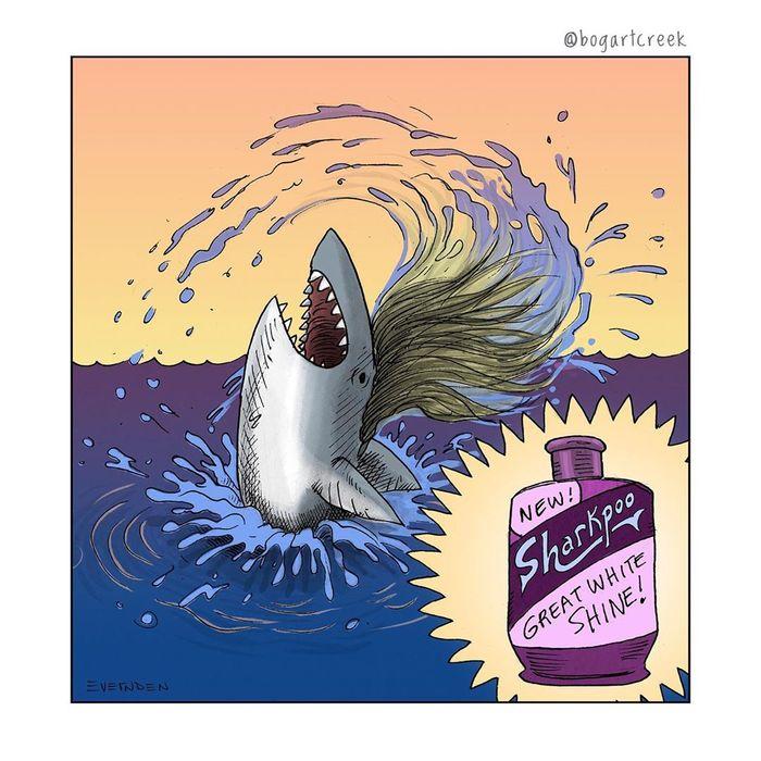 Шампунь для акул