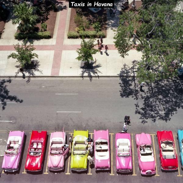 Такси на Гаване