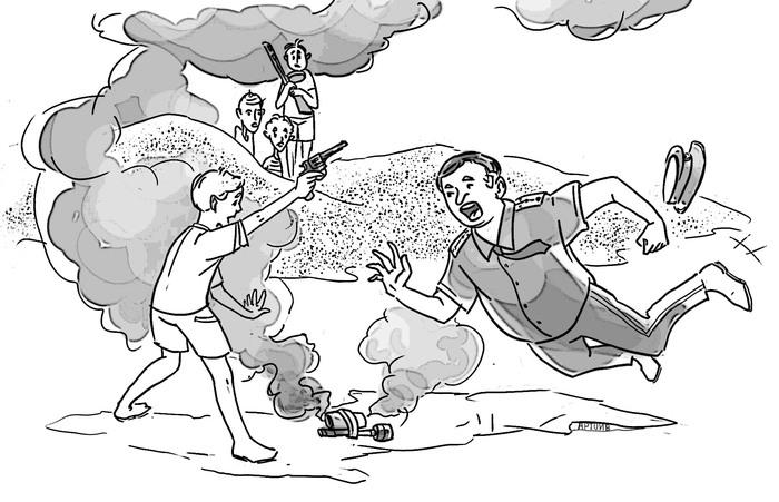 Про дядю Федю. Участкового нашего милиционера … Детство, Детство в СССР, Гарнизонное детство, Гарнизонные истории, Длиннопост
