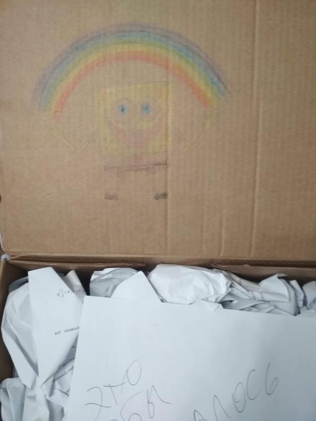 Цвет настроения - Радужный Отчет по обмену подарками, Длиноспост, Обмен подарками, Цвет, Радуга, Котомафия, Длиннопост