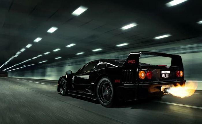 Ferrari F40 - от сумы и тюрьмы не зарекайся. Суперкарам тоже не везет! Энцо Феррари, Ф40, Суперкар, Судьба, Везение, Авария, США, Длиннопост