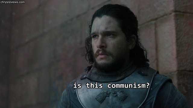 Это коммунизм? Игра престолов, Спойлер, Шакалы