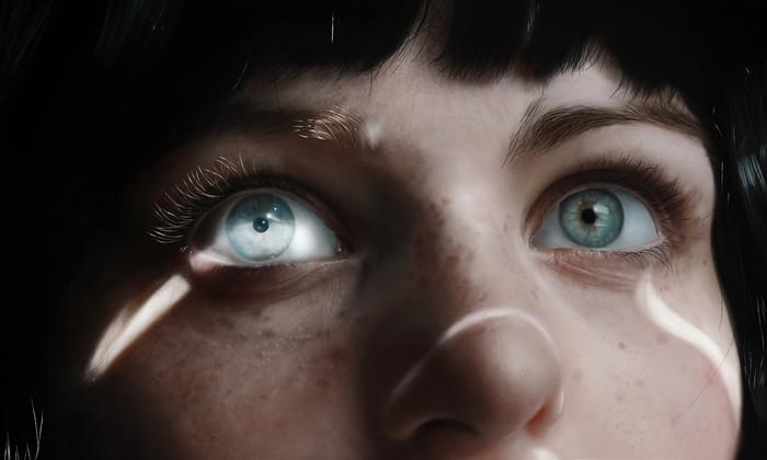 Глаза Арт, Девушки, Глаза, Длиннопост