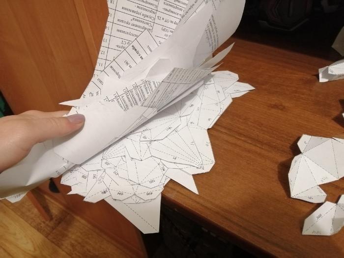 Не удачный опыт с Pepakura Рукоделие с процессом, Pepakura, Шлем, Король Лич, Не удачное, Papercraft, Длиннопост