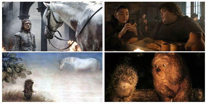 Логическое продолжение сцены с лошадью