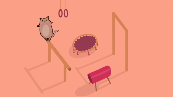 Котик-гимнаст