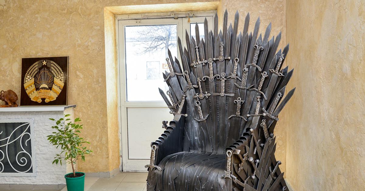 железный трон фото всегда будут передавать