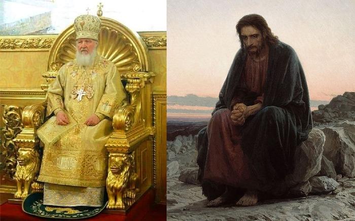 Иисус справа, если что…