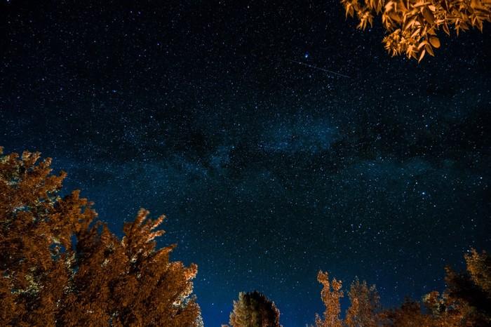 Млечный путь Космос, Планеты и звезды, Астрофото, Млечный путь, Длинная выдержка, Фотография