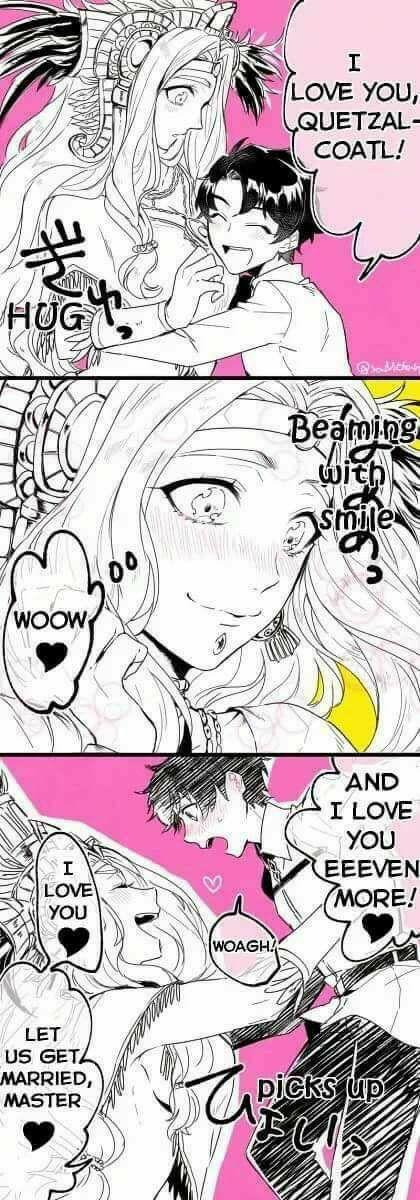 Немножко аниме-милоты, в честь начала лета Аниме, Манга, Милота, Fate Grand Order