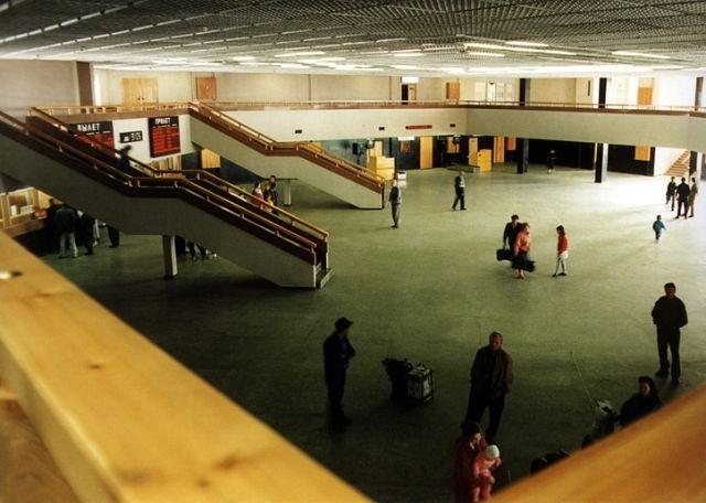 Было - стало Аэропорт, Усть-Илимск, Иркутская область, Длиннопост
