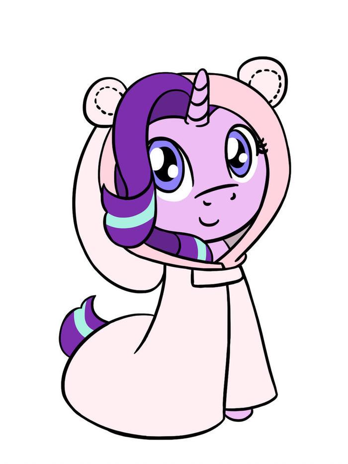 Hamster Pajamas My Little Pony, Ponyart, Starlight Glimmer, Flutterluv