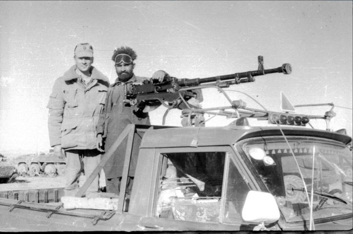 Ган-траки, Афганистан, 1980-е. Афганистан, Шурави, 80-е, Фотография, Длиннопост, СССР, Черно-Белое фото, Оружие