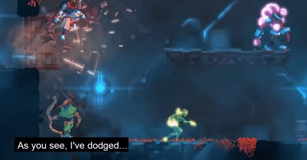 Как Dead Cells мешает вам умереть Roguelike, Roguelite, Dead Cells, Gamedev, Гифка, Видео, Длиннопост