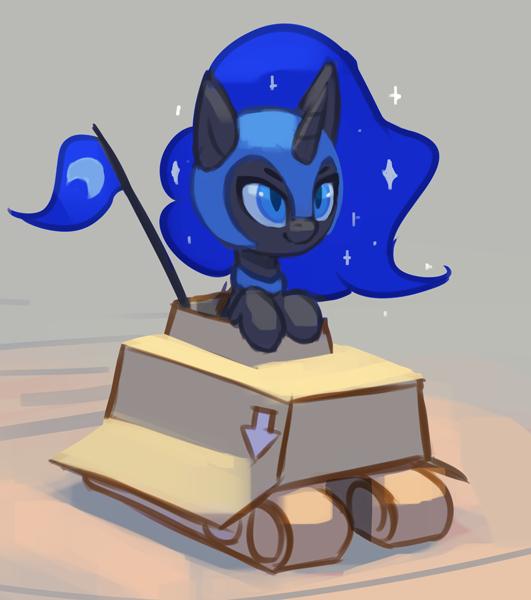 Лунный танк My Little Pony, Princess Luna, Nightmare Moon, Rodrigues404