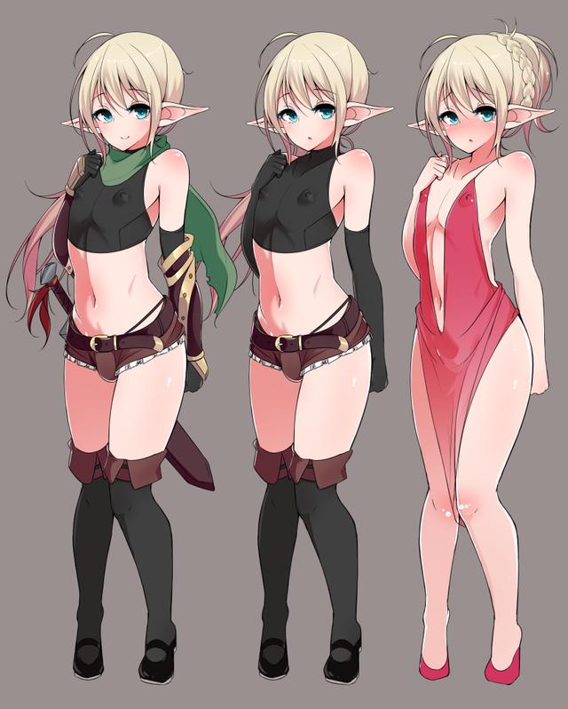 Эльфийский мечник Anime Art, Its a trap!, Anime Trap, Apocrine