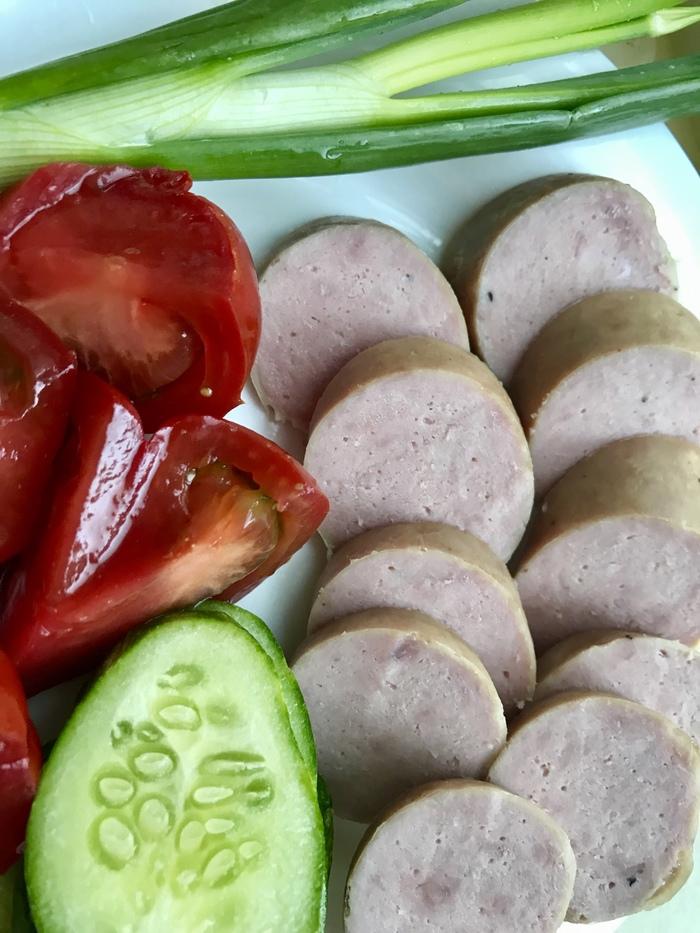 Колбаса по рецепту уважаемого @Anatoly161 Колбаса, Свинина, Рецепт, Длиннопост