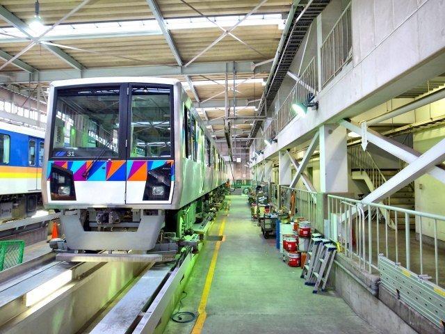 В Японии беспилотный поезд ошибся направлением Япония, Метро, Беспилотник, Авария