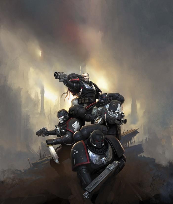 Warhammer 40000. Арт, Картинки, Длиннопост, Wh Art, Warhammer 40k, Mark Holmes