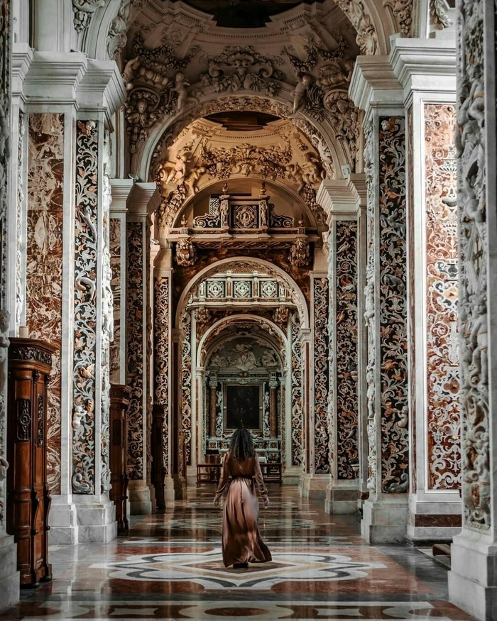Церковь в Палермо, Италия