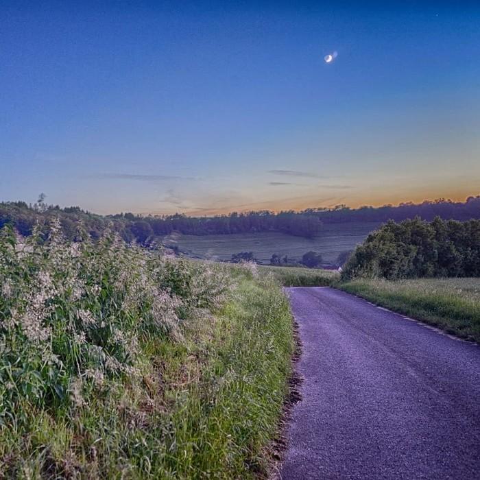 Сегодня ночью Фотография, Природа, Ночь, Луна, Длиннопост