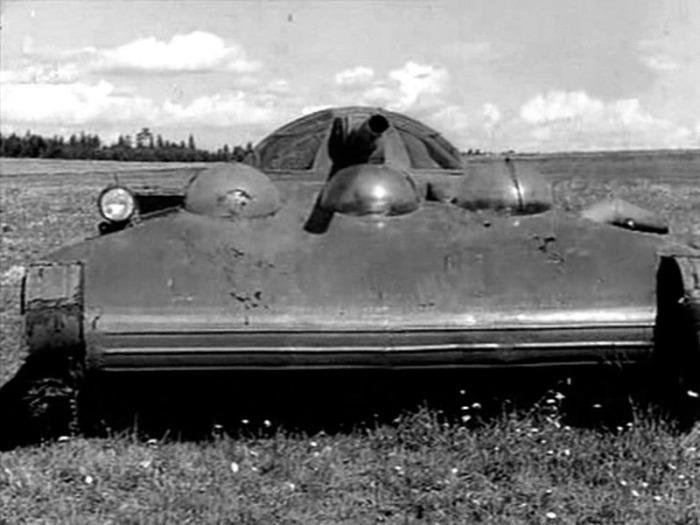 Танк СССР на воздушной подушке Танки, СССР, Длиннопост