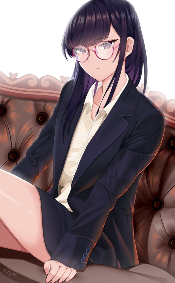 Office Lady Komi-san Аниме, Anime Art, Komi-San wa Comyushou desu