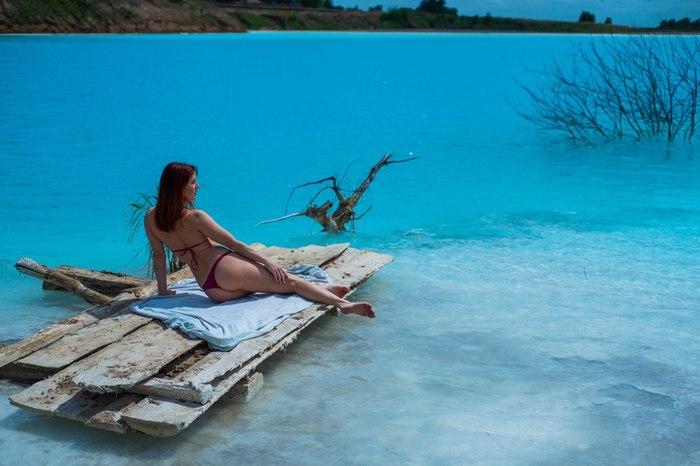 Отравленные Мальдивы: фоторепортаж с опасного сибирского озера неземного цвета за ТЭЦ Новосибирск, Сибирь, Экология, Золоотвал, Тэц, Озеро, Длиннопост