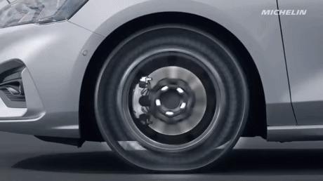 """Неразрушимая шина от """"Michelin"""""""