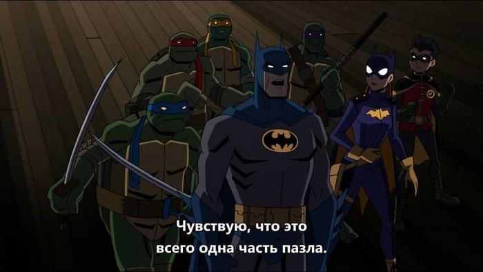 Вдохновляющая речь от бетмена Бэтмен, Длиннопост, DC, Бэтгерл, Черепашки-Ниндзя, Мультфильмы, Раскадровка, Crossover