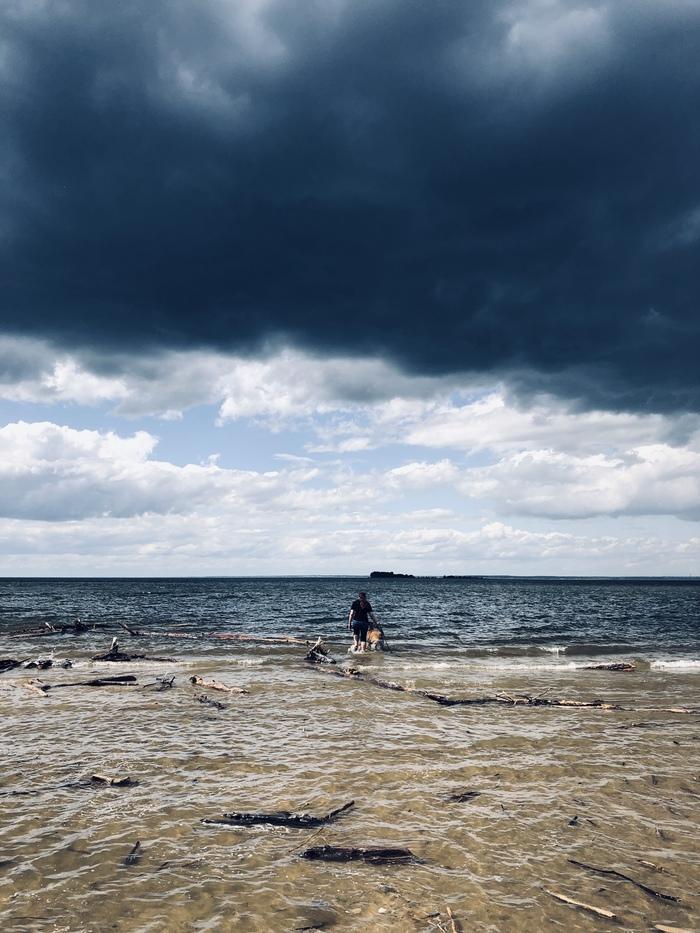 Два моря, два неба Фотография, Мобильная фотография, Начинающий фотограф, Море, Пейзаж