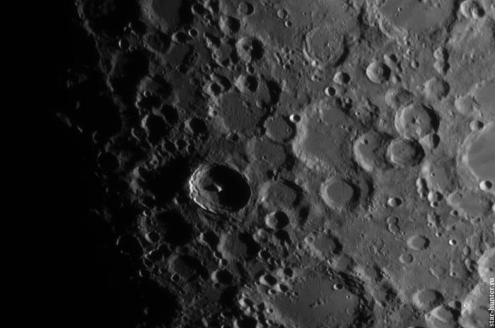 Луна, 11 июня 2019 года. Луна, Кратер, Астрофото, Астрономия, Космос, Starhunter, Анападвор