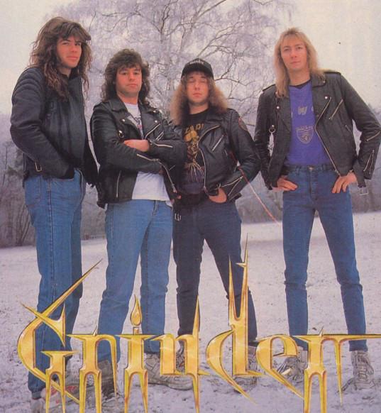 Grinder Thrash Metal, Speed Metal, Oldschool, Видео, Длиннопост