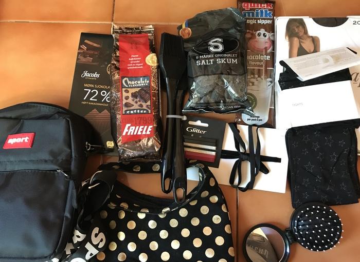 Цвет настроения... чёрный! Альтруист из Норвегии - Москва. Отчет по обмену подарками, Обмен подарками, Подарок, Цвет настроения - ?