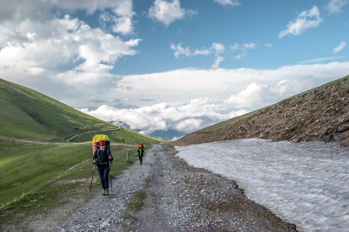 Дорога в облака Горы, Поход, Туризм, Архыз, Фотография, Пейзаж, Природа, Облака