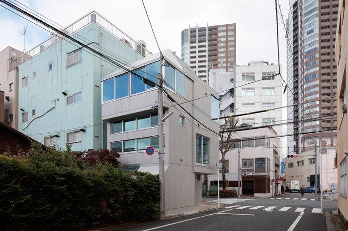 Маленькая резиденция в городе Токио. Япония, Токио, Архитектура, Длиннопост