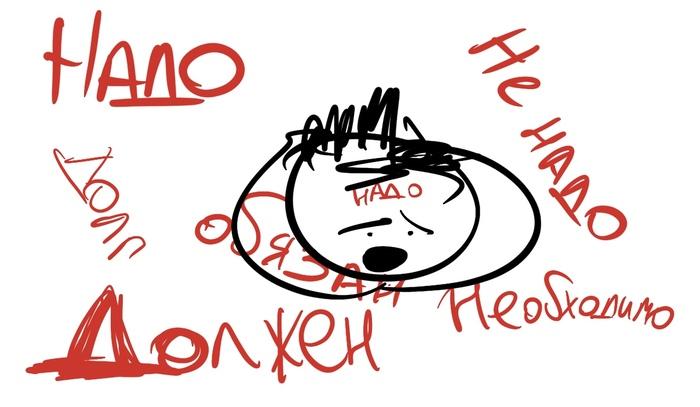 Есть такое слово «надо», или Договор, который вы не подписывали. Психология, Детская психология, Коучинг, Нлп, Психотерапия, Длиннопост