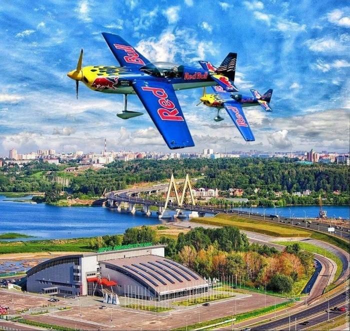 Red Bull 2019 в Казани Red Bull, Казань, Татарстан, Самолет, Длиннопост