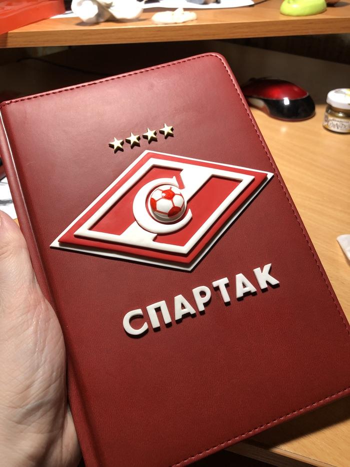 Блокнот Спартак Футбол, Спартак Москва, Блокнот, Длиннопост