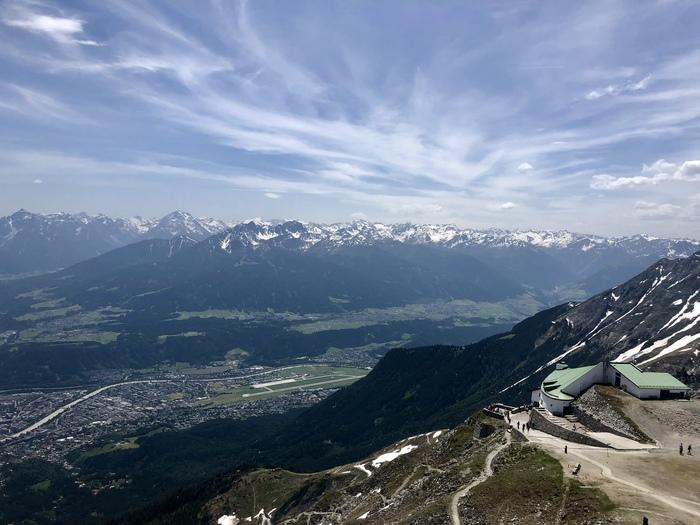 Горная цепь Нордкетте (Инсбрук, Австрия) Австрия, Инсбрук, Горы, Альпы, Длиннопост