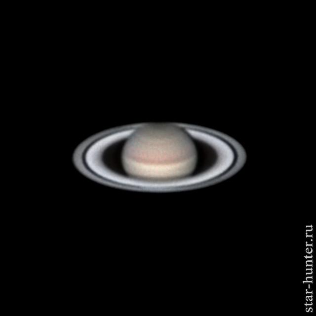 Сатурн, 17 июня 2019 года, 00:14. Сатурн, Астрофото, Астрономия, Космос, Планета, Starhunter, Анападвор
