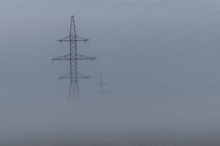 Туманное утро. Начинающий фотограф, Пейзаж, Canon 70d, Хочу критики, Lightroom, Длиннопост