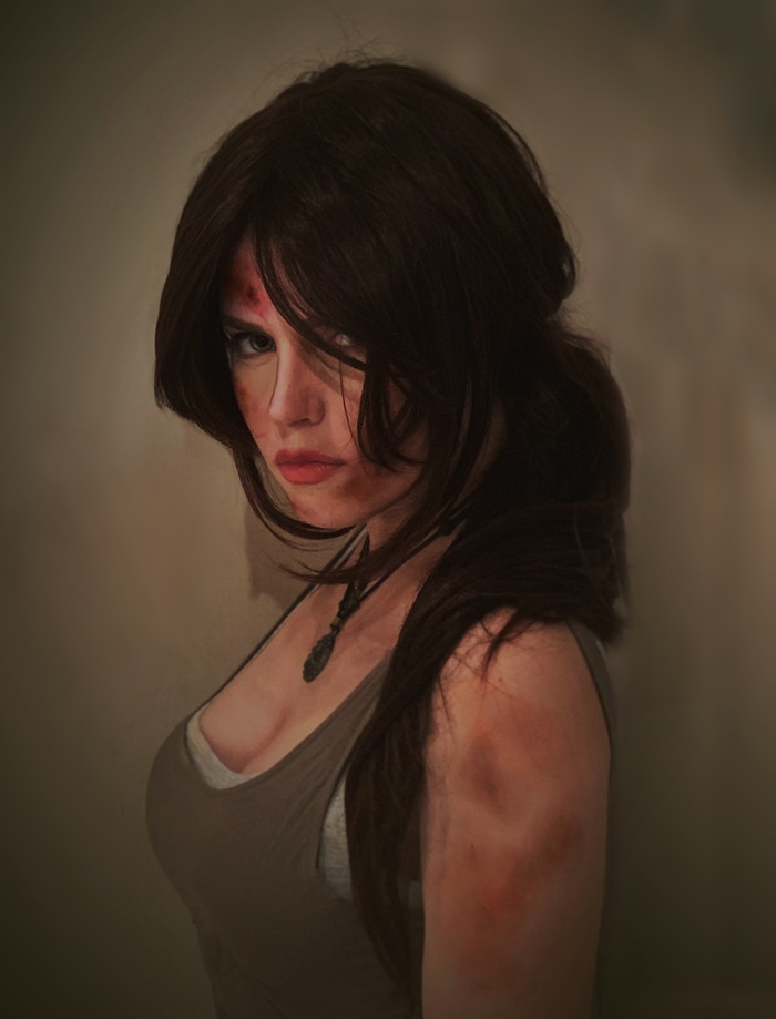 Tomb Raider cosplay test