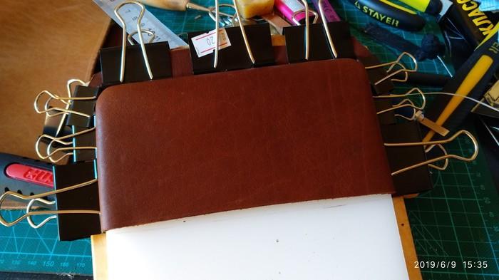 Барсеточный клатч. Изделия из кожи, Кожевенное ремесло, Длиннопост