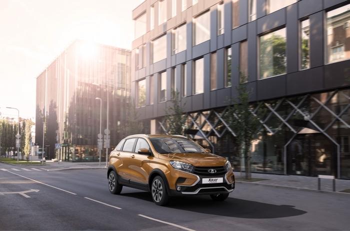 АвтоВАЗ объявил о начале производства Lada XRAY Cross с вариатором Автоваз, Lada XRay, Вариатор