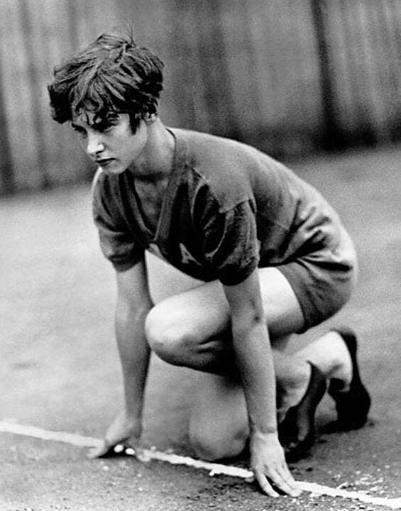 Женщина с большой силой воли Интересное, Сила, Женщина, Спорт, История, Бег