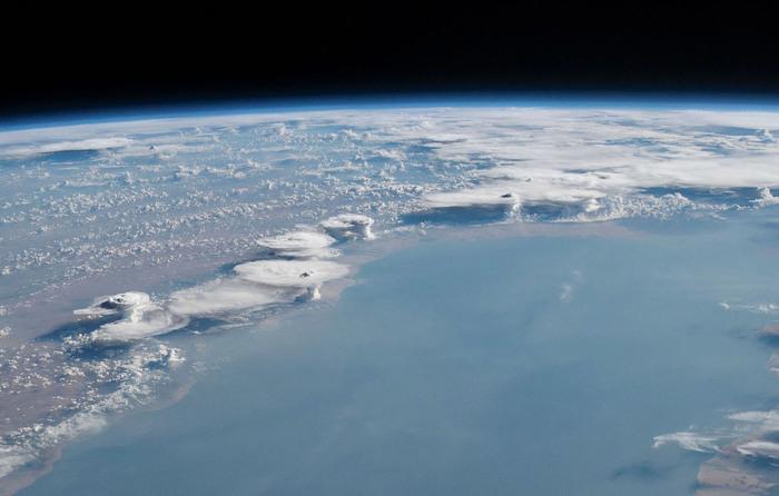 Виды с орбиты Земли Фотография, Космос, МКС, Орбита, Земля, Длиннопост